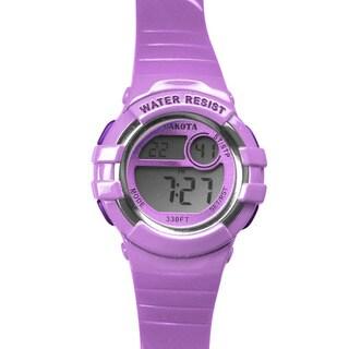 Dakota Lavendar Digital Diver Watch