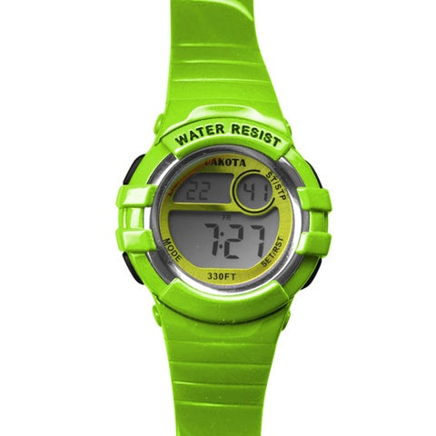 Dakota Lime Digital Diver Watch