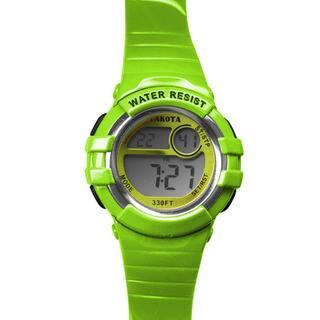 Dakota Lime Digital Diver Watch