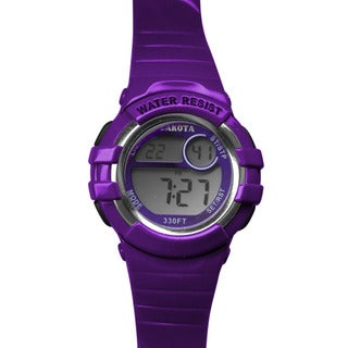 Dakota Watch Purple Digital Diver Timepiece