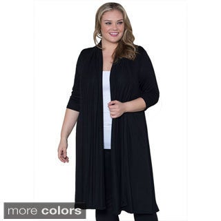 Sealed with a Kiss Women's Plus Size 'Parker' Cardigan