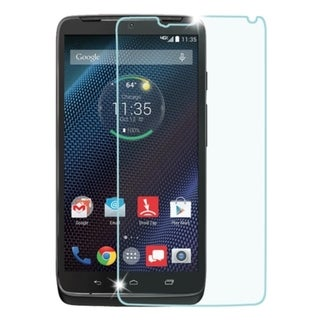 Insten Clear Tempered Glass LCD Screen Protector Film Cover For Motorola Droid Turbo