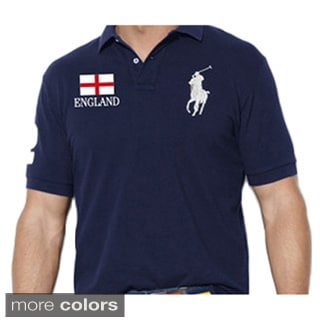 Ralph Lauren Men's Custom Fit Flag Polo Shirt