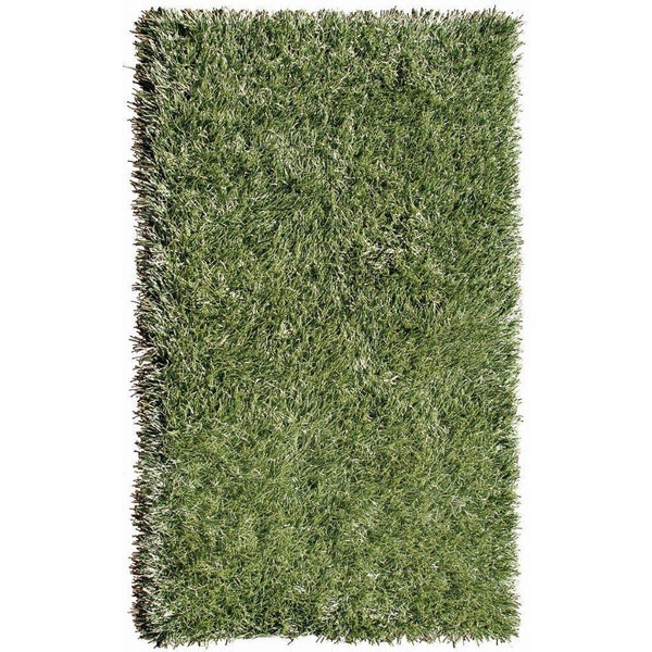 Indoor/ Outdoor Green Grazin' in the Grass Area Rug (5' x 8')