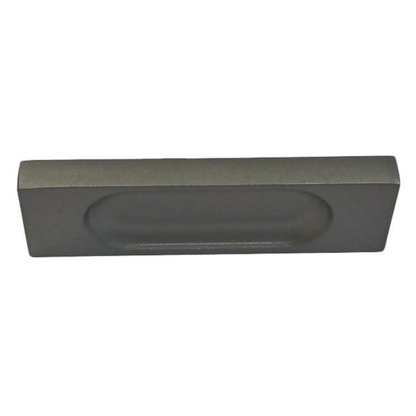 Valve Luxury Hardware 3 5 Inch Brushed Nickel Flush Cabinet Pull Pack Of 25