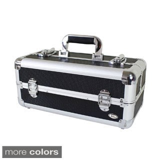 Jacki Design Aluminum 6-inch Carry-on Makeup Case