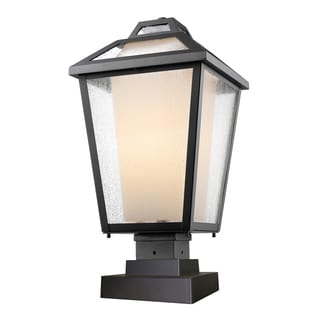 Z-Lite Memphis 1-Light Painted Outdoor Pier Mount Light