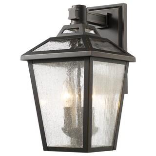 Z-Lite Bayland 3-Light Outdoor Wall Light