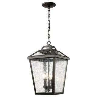 Z-Lite Bayland 3-Light Outdoor Chain Light