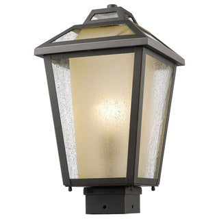 Z-Lite Memphis Oil-rubbed Bronze 1-Light Outdoor Post Mount Light