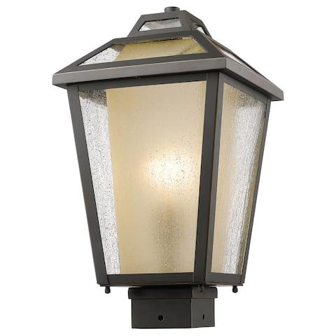 Avery Home Lighting Memphis Oil-rubbed Bronze 1-Light Outdoor Post Mount Light