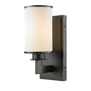 Z-Lite Savannah 1-light Matte Opal Wall Sconce Light