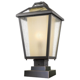 Z-Lite Memphis 1-Light Oil Rubbed Bronze Outdoor Pier Mount Light