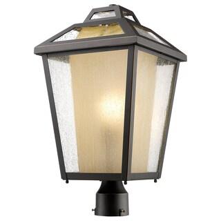 Z-Lite Memphis 1-Light Oil Rubbed Bronze Post Mount Light