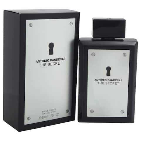 Antonio Banderas The Secret Men's 6.75-ounce Eau de Toilette Spray