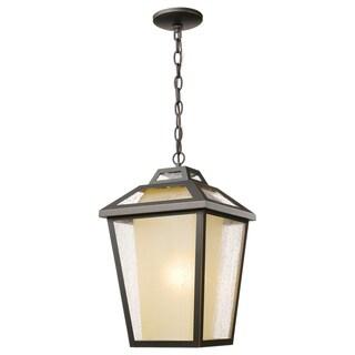 Z-Lite Memphis 1-Light Oil Rubbed Bronze Outdoor Chain Light