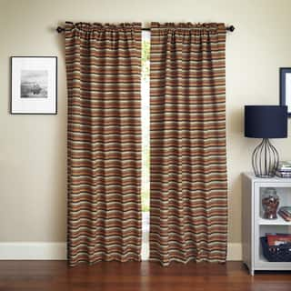 Blazing Needles 'Cadillac' Patterned Jacquard Chenille Curtain Panels (Set of 2)|https://ak1.ostkcdn.com/images/products/9964824/P17117060.jpg?impolicy=medium