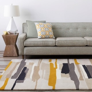 Hand-Tufted Johnny Stripe Indoor Area Rug - 5' x 8'