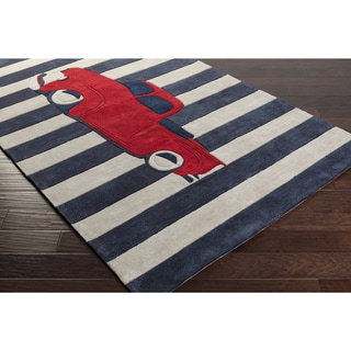 Hand-Tufted Berwick Print Polyester Rug (3'6 x 5'6)