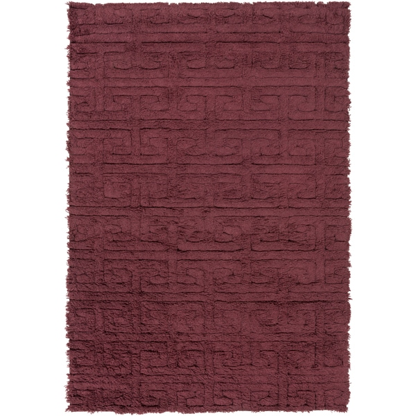 Hand Woven Matthew Solid Wool Area Rug 2 X27