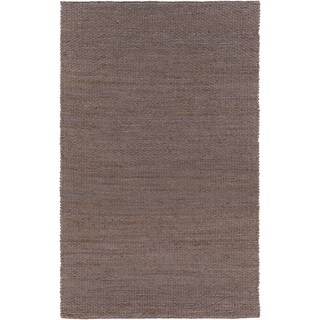 Hand-Woven Milagros Solid Jute Area Rug