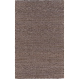 Hand-Woven Milagros Solid Jute Rug (5' x 8')
