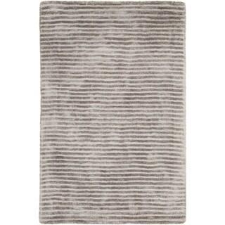 Hand-Loomed Elle Solid Viscose Rug (9' x 13')