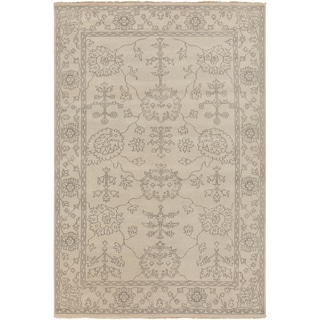 Hand-Knotted Deanna Floral New Zealand Wool Rug (8' x 11')