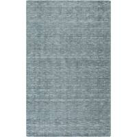 Hand-Woven Bowmont Solid Indoor Area Rug - 8' X 11'