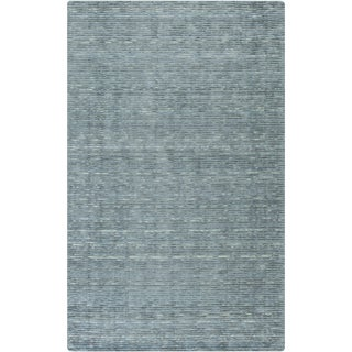 """Hand-Woven Bowmont Solid Indoor Area Rug - 3'3"""" x 5'3"""""""