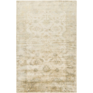 Hand-Knotted Candice Floral New Zealand Wool Rug (2' x 3')