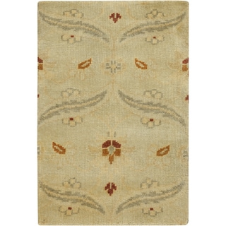 Hand-Knotted Westin Floral New Zealand Wool Area Rug - 9' x 13'