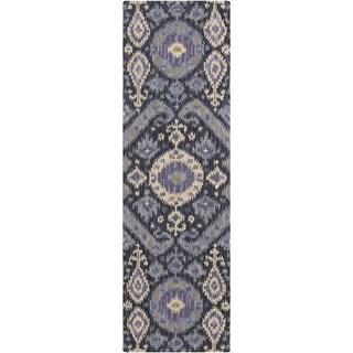 Hand-Tufted Debbie Southwestern Wool Rug (2'6 x 8')