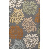Hand-Tufted Collins Contemporary Wool Area Rug