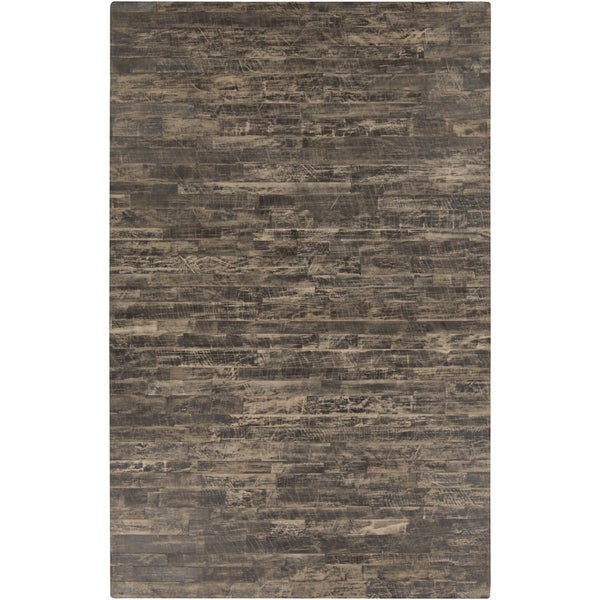 Hand-Crafted Davian Stripe Hair On Hide Rug (8' x 10')