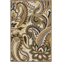 Hand-Tufted Catherine Paisely Wool Area Rug - 8' x 11'