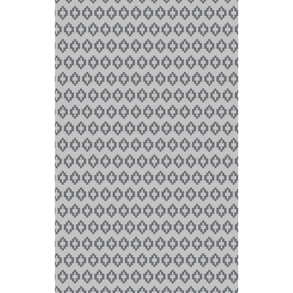 Hand-Knotted Esteban Solid Viscose Rug (5' x 8')