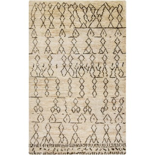 Hand-Knotted Theodore Nature Jute Rug (5' x 8')