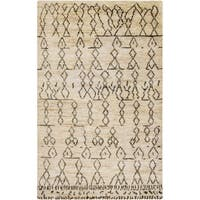 Hand-Knotted Theodore Nature Jute Area Rug - 5' x 8'