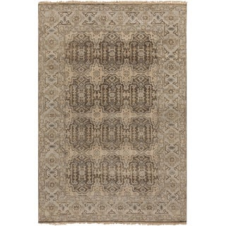 """Hand-Knotted Archer Oriental New Zealand Wool Area Rug - 8'6"""" x 11'6"""""""