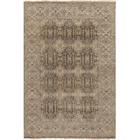 "Hand-Knotted Archer Oriental New Zealand Wool Area Rug - 5'6"" x 8'6"""