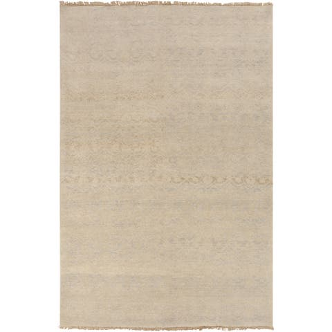 """Hand-Knotted Analia Vintage New Zealand Wool Area Rug - 5'6"""" x 8'6"""""""