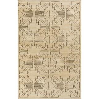 Hand-Knotted Amani Kilim Wool Rug (8' x 11')