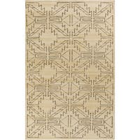 "Hand-Knotted Amani Kilim Wool Area Rug - 3'6"" x 5'6"""