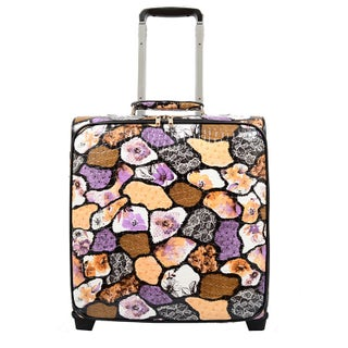 Mellow World Evelyn 16-inch Rolling Upright Carry-on Upright Suitcase (2 options available)