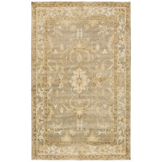 Hand-Knotted Laverne Floral New Zealand Wool Rug (9' x 13')