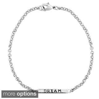 Mondevio 'Dream' Bar Rolo Bracelet (Option: Yellow)