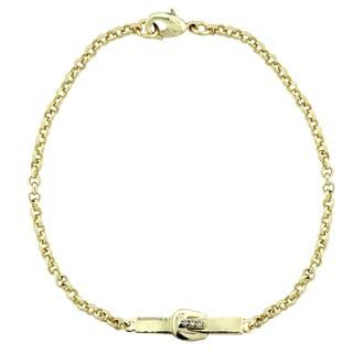 ICZ Stonez Buckle Bar Chain Bracelet (3 options available)