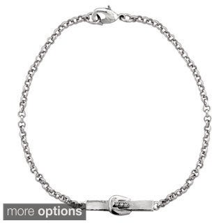 ICZ Stonez Buckle Bar Chain Bracelet