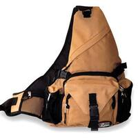 Cool Khaki Shoulder Strap Sling Bag